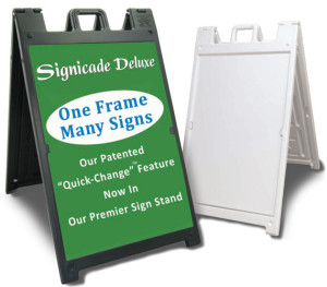 Portable sign stand