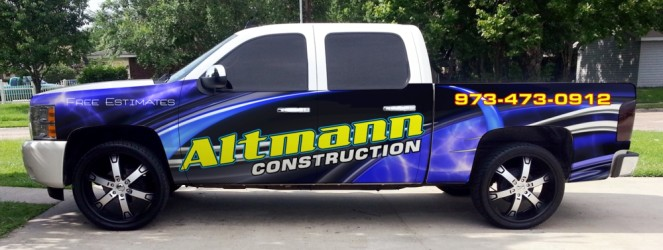 Partial wrap for NJ construction company