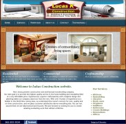 Website for custom woodworking company