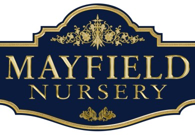 Custom sign for Mayfield nursery