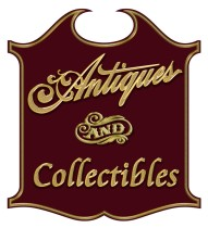 Custom sign for Antiques store