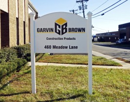 Garwin Brown outdoor sign