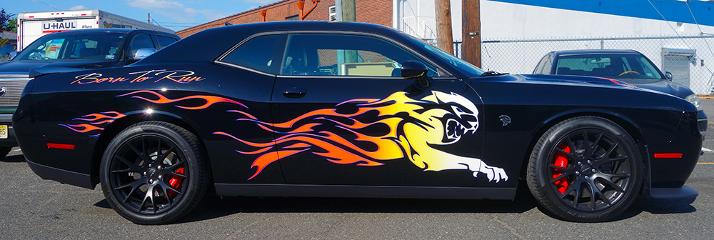 Dodge Hellcat Custom Graphics Ajr Signs And Graphics