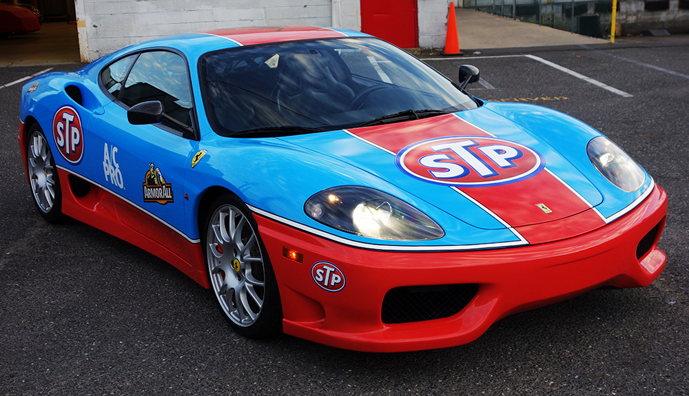 Ferrari 360 custom wrap