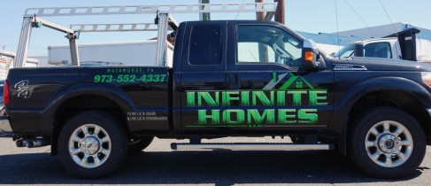 Truck Lettering for Infinite Homes