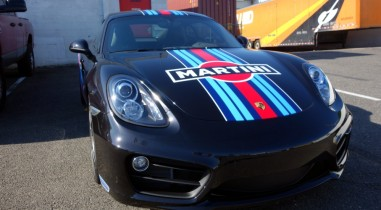 Martini Porsche graphics