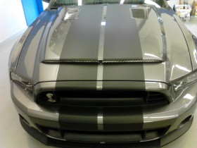 Ford Mustang GT Cobra racing stripes