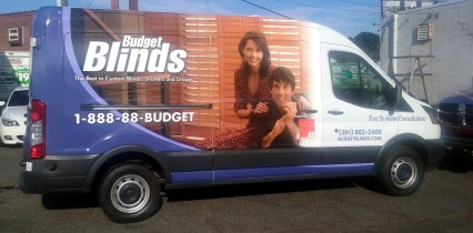 Ford transit wrap