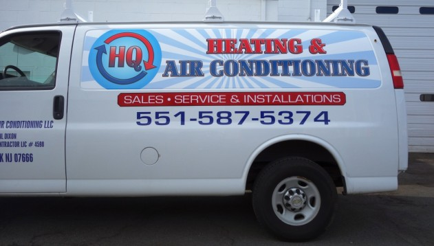 Heating and Air conditioning logo design