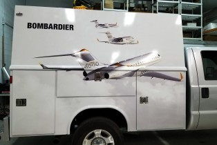 Bombardier wrap install