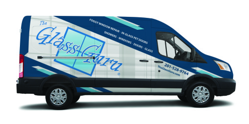 Glass Guru Ford Transit Wrap