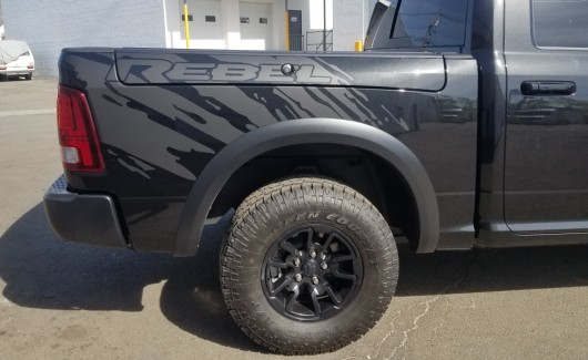 Dodge pick up truck bed graphics
