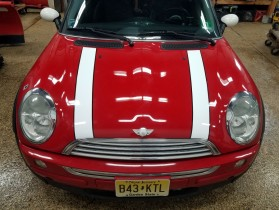 Mini cooper striping