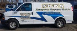 nicks towing van