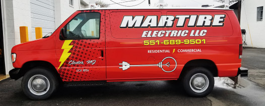 Martire Electric van wrap