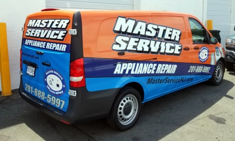 Mercedes van wrap