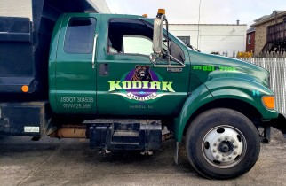 Kodiak Landscaping truck wrap