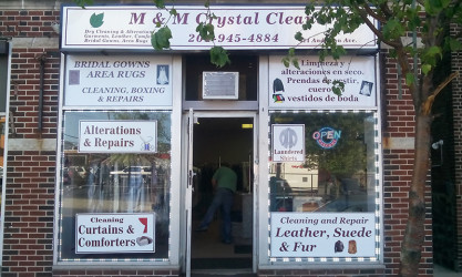Window decals and signs for cleaning business