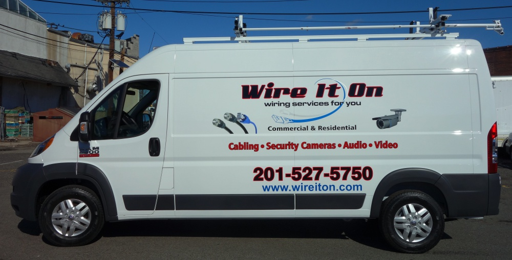 Wire It On van