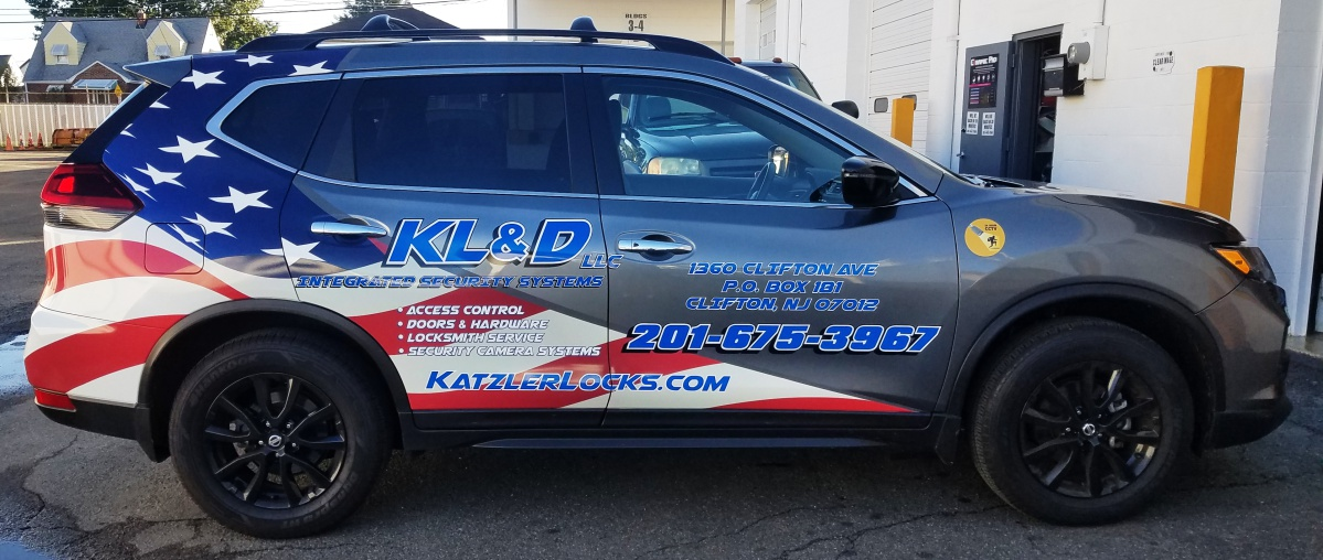 KLD Nissan partial wrap