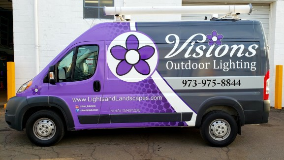 Visions wrap design, print and installation