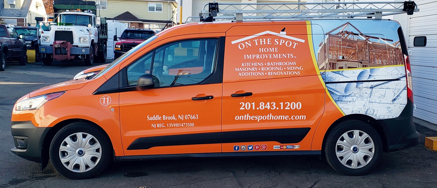 On The Spot Transit connect wrap with pictures