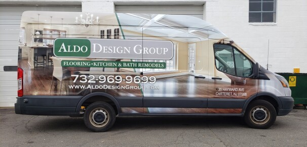 Aldo group ford transit full wrap