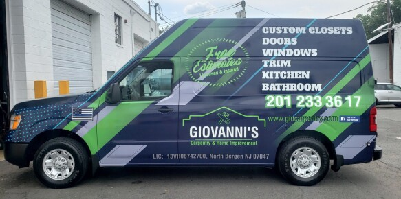 Giovannis Nissan NV Wrap
