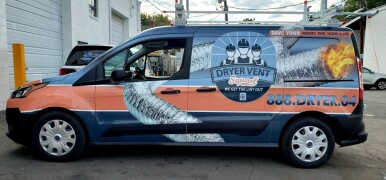 Vent Squad Ford Transit Connect full wrap